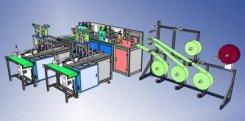 Cung cấp dây chuyền sản xuất, máy làm khẩu trang y tế tự động